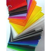 China 3mm clear white and colored cell cast acrylic sheets for sale wholesale