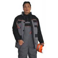 China PRO Long Warm Winter Work Jackets ,  Mens Safety Winter Coats With Padding on sale