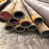 China ASTM A106 GrC 88.9mm x 5mm x 12meter seamless pipe with API , CE ,ISO certificate and bevel end , plastic cap at end wholesale