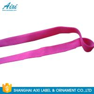 China Elastic Webbing Straps Elastic Binding Tape Fold - Over Elastic Tape wholesale