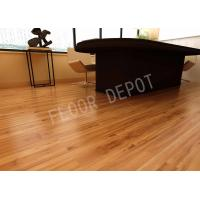 China E1 Oak Color Waxed Lifeproof Laminate Flooring ECO HDF 1215X197X8MM Stable wholesale