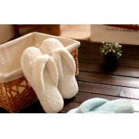 China Close toe coral plush hotel  indoor warm Flip flops womens washable slippers S/M/L wholesale