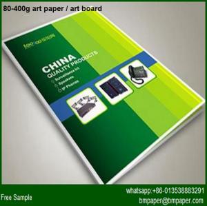 China C2S art paper glossy matte/ coated paper glossy matt/ printing paper wholesale