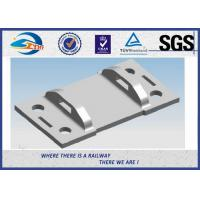 Quality High Tensile Strength Plain Railroad Tie Plates as Track Fasteners for sale