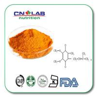 China GMP coenzyme q10, ubiquinol, coq10 , co q10 98% good price fat soluble raw material and capsule in bulk wholesale