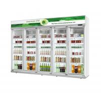 China 0~10℃ Temp Energy Drink Display Cooler 5 Layers R134a Refrigerant on sale