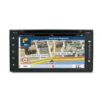 Mirror Link Touch Screen Car Dvd Player For Toyota Universal , Toyota Navigation System Manufactures