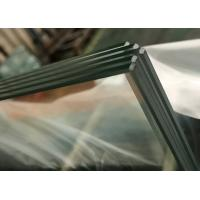 China 3mm Clear Tempered Safety Glass / Furniture Tempered Glass With Strong Anti Impactant on sale