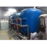 China 50M3/H Water Treatment System / Pure Water Filter 50T/H With Blue Fiberglass For Drinking wholesale