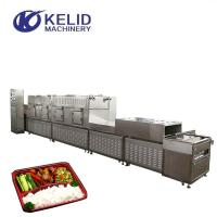 Quality Tunnel Conveyor Belt Type Microwave Heating Equipment For Fast Food for sale