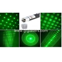 China 5 in 1 Green Laser Pointer Pen 1mW Star Effect Caps 5 Laserheads Lazer Light Made In China wholesale