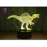 China RGB 3D Dinosaur Night Light Touch Screen Spinosaurus Thanksgiving Gifts wholesale