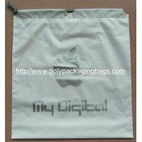 EVA Transparent White LDPE Frosted Small Plastic Drawstring Bags