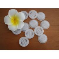 China Non - Toxic BPA Free PE Plastic One Way Degassing Valve Natural Color on sale