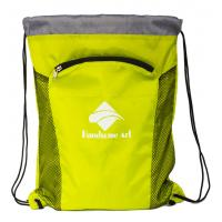 China New Hot Selling  Cheap Polyester Drawstring Bag with Zipper-HAD14023 wholesale
