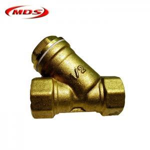 China brass forged y strainer flange filter valve wholesale