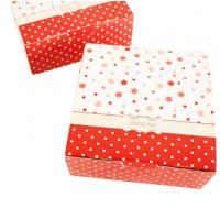 Buy cheap Christmas Cardboard Boxes With Lids , Recycled Paper Folding Gift Box from wholesalers