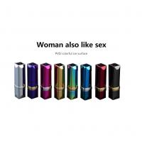 China Metal Windproof USB Rechargeable Lighter Without Flame , Eight Colors wholesale
