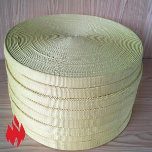 China Kevlar Webbing, high strength and abrasion resistant, flame retardant, golden color, black color wholesale