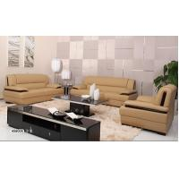 China Genuine Leather Sectional Sleeper Sofa For Small House / Living Room Home Furniture wholesale