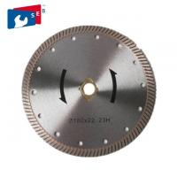 China Turbo Diamond Concrete Cutter Blade 65Mn / 30Crmo For Cutting Marble Granite wholesale