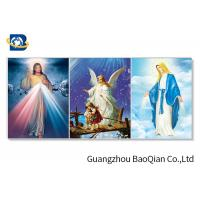 China Home Decorative 3d Lenticular Flip Printings Of Religion , Wall  Art /  Picture / Poster wholesale