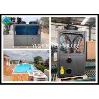 China Energy Efficient Swimming Pool Air Source Heat Pump 25 HP Compressor wholesale