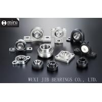 China Miniature Cast Iron / Plastic Mounted Ball Bearings , Pillow Block Ball Bearing Unit wholesale