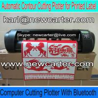 China Automatic Contour Cutting Plotter With Bluetooth Vinyl Cutter With AAS Vinyl Label Cutter wholesale