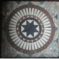 China mosaic flat stones tiles in different pattern wholesale