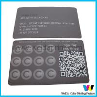 China Matte Coated Paper Custom Card Printing , Spot UV Business Card Printing wholesale