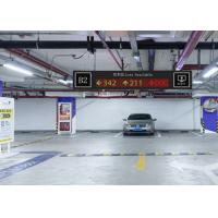 China Front Mounted Ultrasonic Parking Guidance System , Indoor Rs485 Car Parking Solutions wholesale