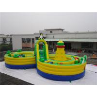 China Outdoor  Inflatable Amusement Park / Children playground equipment amusement wholesale