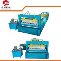 China Roof Tile Forming Machine , Thick Sheet Metal Forming Equipment For Carriage Board wholesale