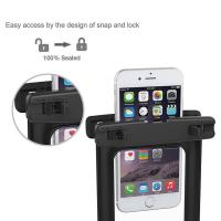 Eco Friendly TPU Waterproof Phone Holder , Waterproof Cell Phone Case Recyclable Feature