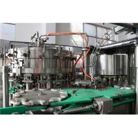 China Soft Drink Washing Filling And Capping Machine With Water Sealing Equipment on sale