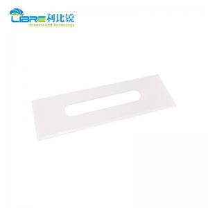 China 43mm*22mm*0.1mm Ceramic Razor Blades For Slitting PP Film wholesale