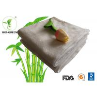 Customized Softness Bamboo Dry Wipes , Square Bamboo Antibacterial Baby Wipes
