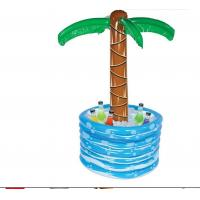 China 48 Inch PVC Inflatable Palm Tree Cooler  Inflatable Drinks Cooler Tray 0.25mm wholesale