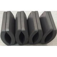 China Customized Permanent Big Ferrite Arc Magnet For Air Pump 52.12*50.18*7.27 mm wholesale
