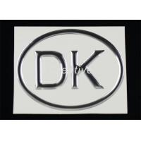China Full Color Printed 3D Domed Labels , 3d Letter Labels Stickers For Machines wholesale