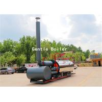 China Durable Gas Diesel Oil Fired Steam Boiler Q245R Steel Plate Material wholesale
