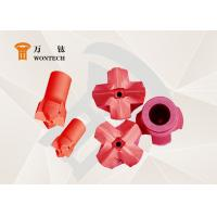 China Geological Exploration Taper Button Bit Steel Easy Operation Corrosion Resistance wholesale