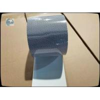 China White Reflective Safety Tape High Intensity Grade Plastic Backing 10CM Wide wholesale