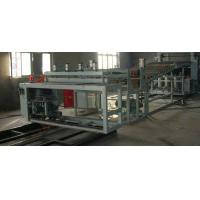 China PVC Wave Plastic Board Extrusion Line , PVC Wave Plate Extrusion Machinery on sale