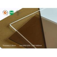 Safety Scratch Resistant Acrylic Sheet , 6mm Heat Resistant Perspex Cut To Size