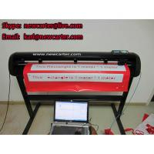 China HW1200 Cutting Plotter With Optic Sensor Large Vinyl Cutter Contour Cutting Plotter 52'' wholesale