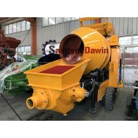 China Diesel Power Concrete Mixer with Pump New Design in 2018 Hot in Ordering! ! ! wholesale