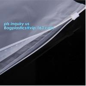 China PP Flat Slider Zipper for PP Zipper Bag, Cloth package PE slider zip bag, Apparel Garment Clothing package PE slider zip wholesale