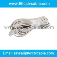 China 6 Pin Mini Din Cable For Samsung CCTV System wholesale